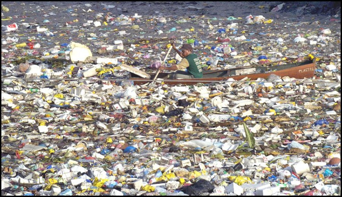 Photos such as this are constantly being used to portray and misinform about what the Pacific Garbage Patch really is. This photo is NOT anywhere near the North Pacific Gyre.