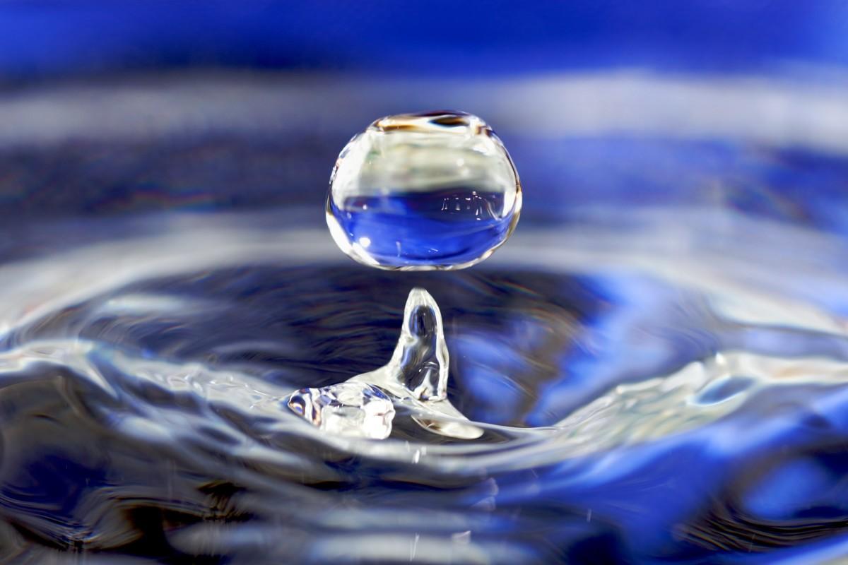 Every drop is precious.