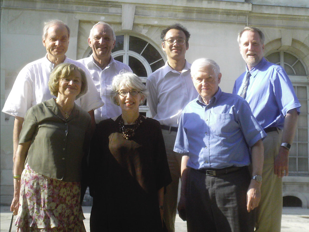 The 7 scientists behind the prose of the definition.
