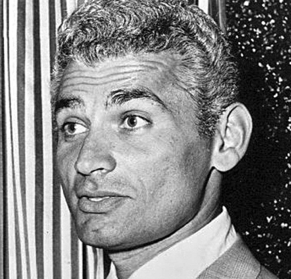 Hollywood film star Jeff Chandler born December 15 1918 died June 17 1961