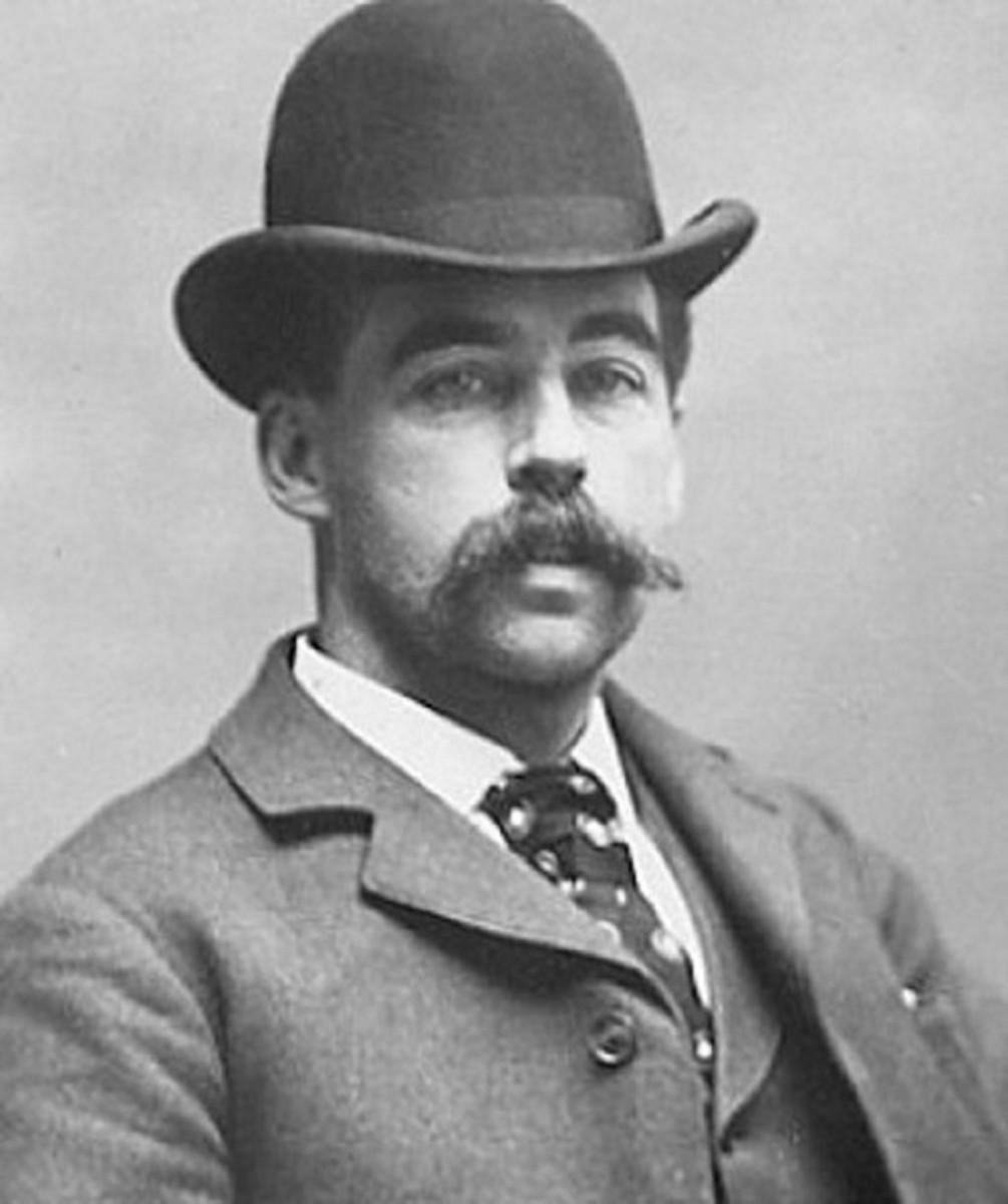 Dr. Henry Howard Holmes: born 16 May 1861 died 7 May 1896
