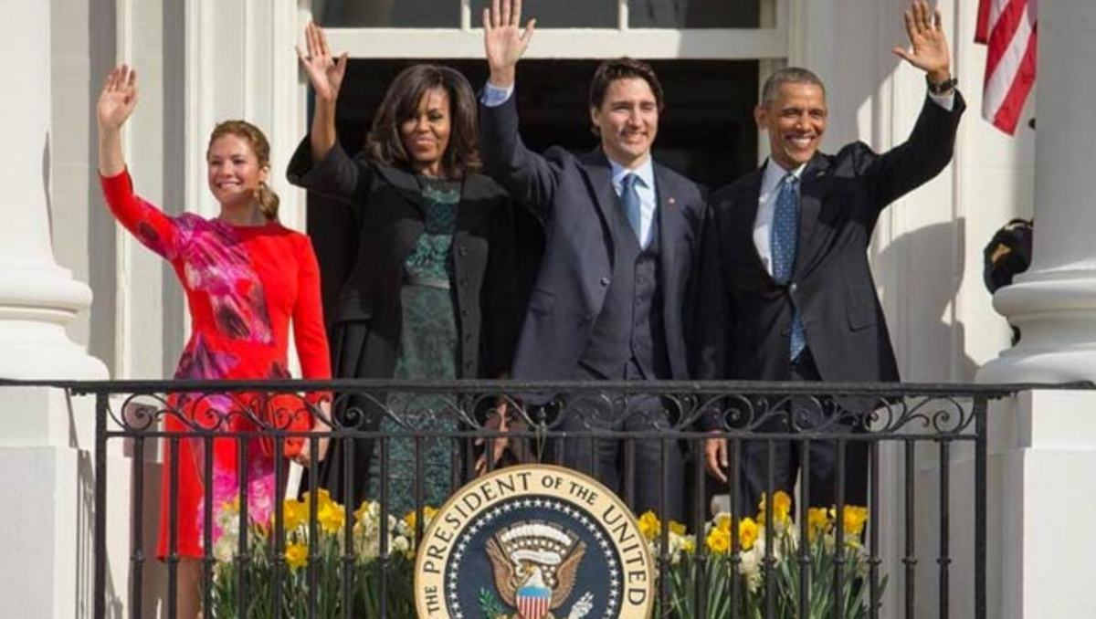 The Obamas hosted a star-studded State dinner for the Trudeaus on Mar 10, 2016