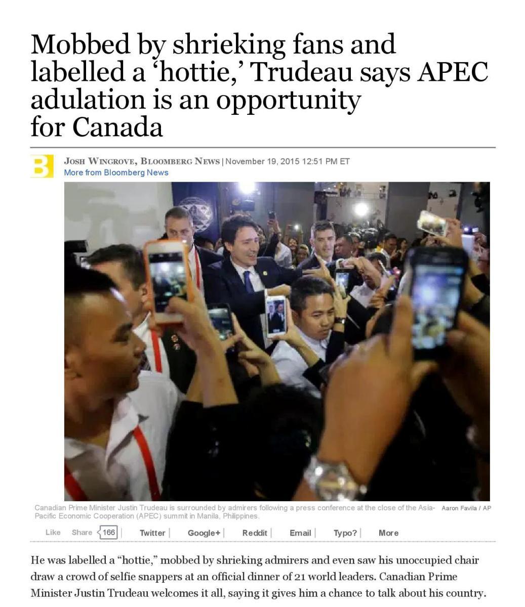 The hottie of APEC (Nov 2015)