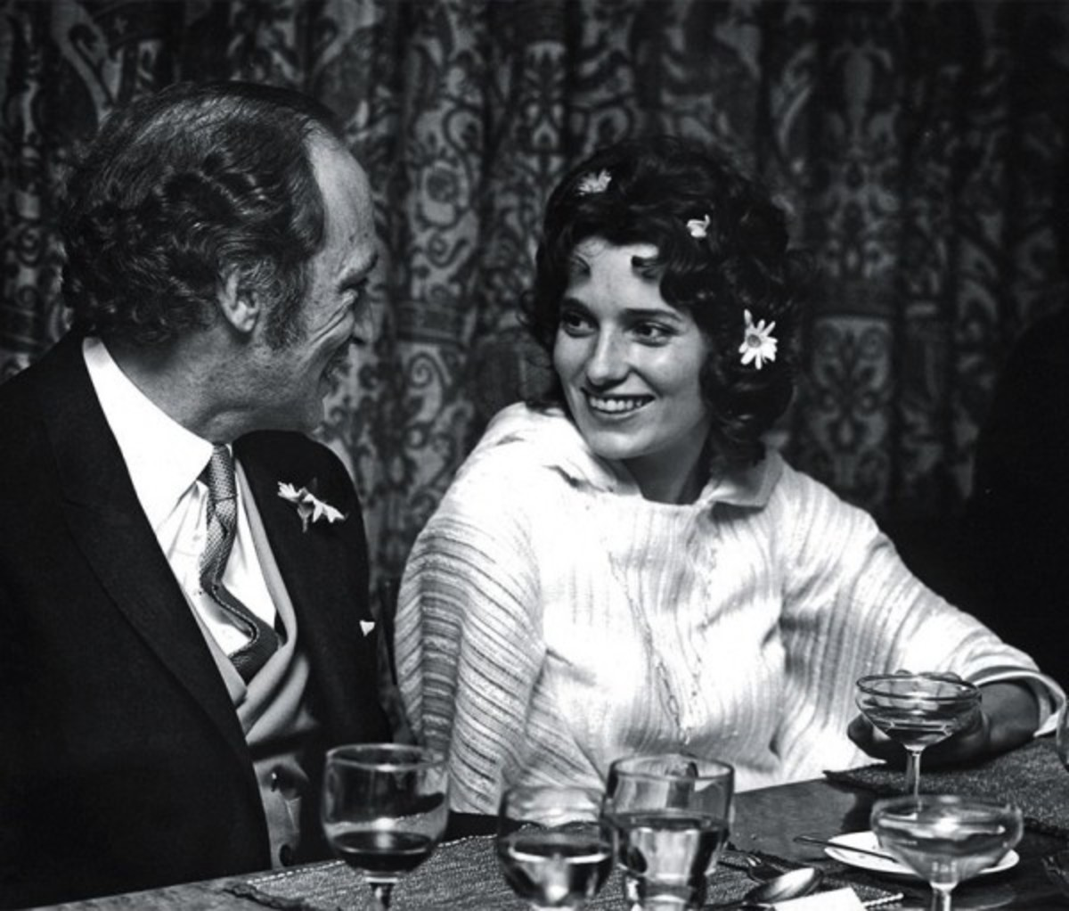 Pierre Trudeau and Margaret Sinclair were married March 5, 1971, at St. Stephen's Church in North Vancouver.