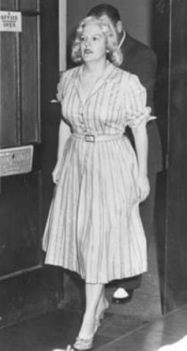 Anjette Donovan Lyles at her trial
