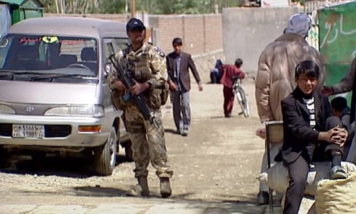 Ko on 'Closed Protection Unit' Detail during New Zealand Prime Minister John Key's visit to Afghanistan.