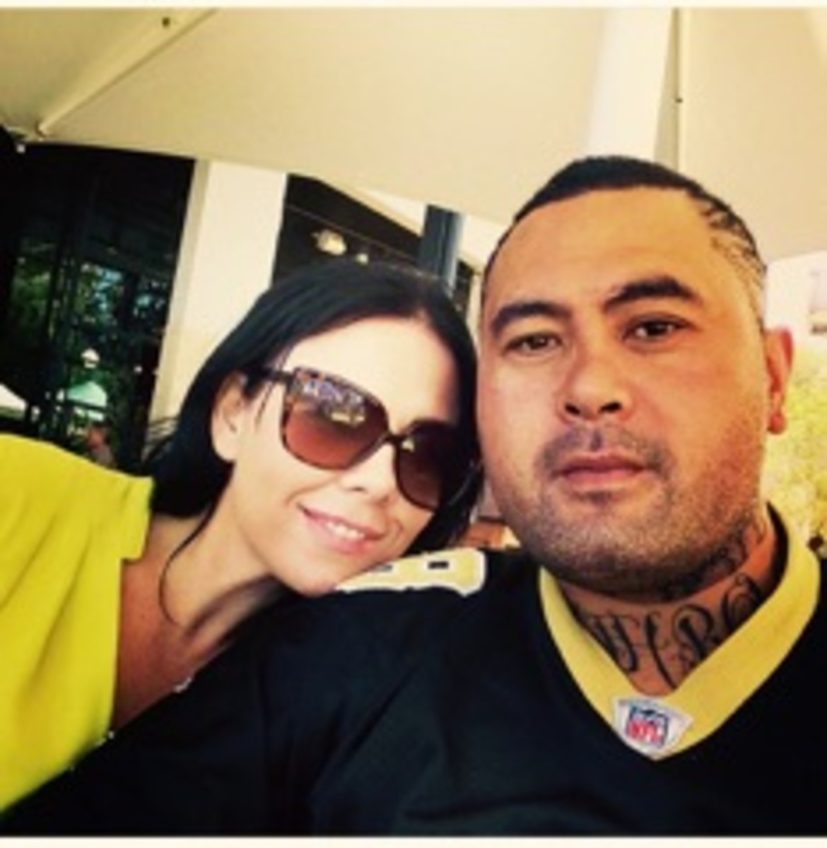 Ko and his long time partner Teresa who has suffered the pain of a miscarriage since Ko has been imprisoned.