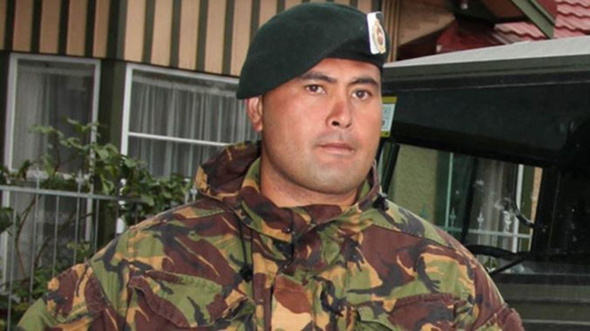 Former Lance Corporal Ngati Konohi Te Eke Haapu (known as Ko Rutene)