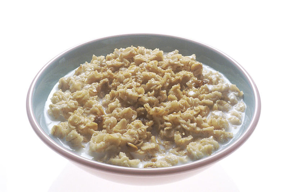 The bad old days of porridge three times a day are past.