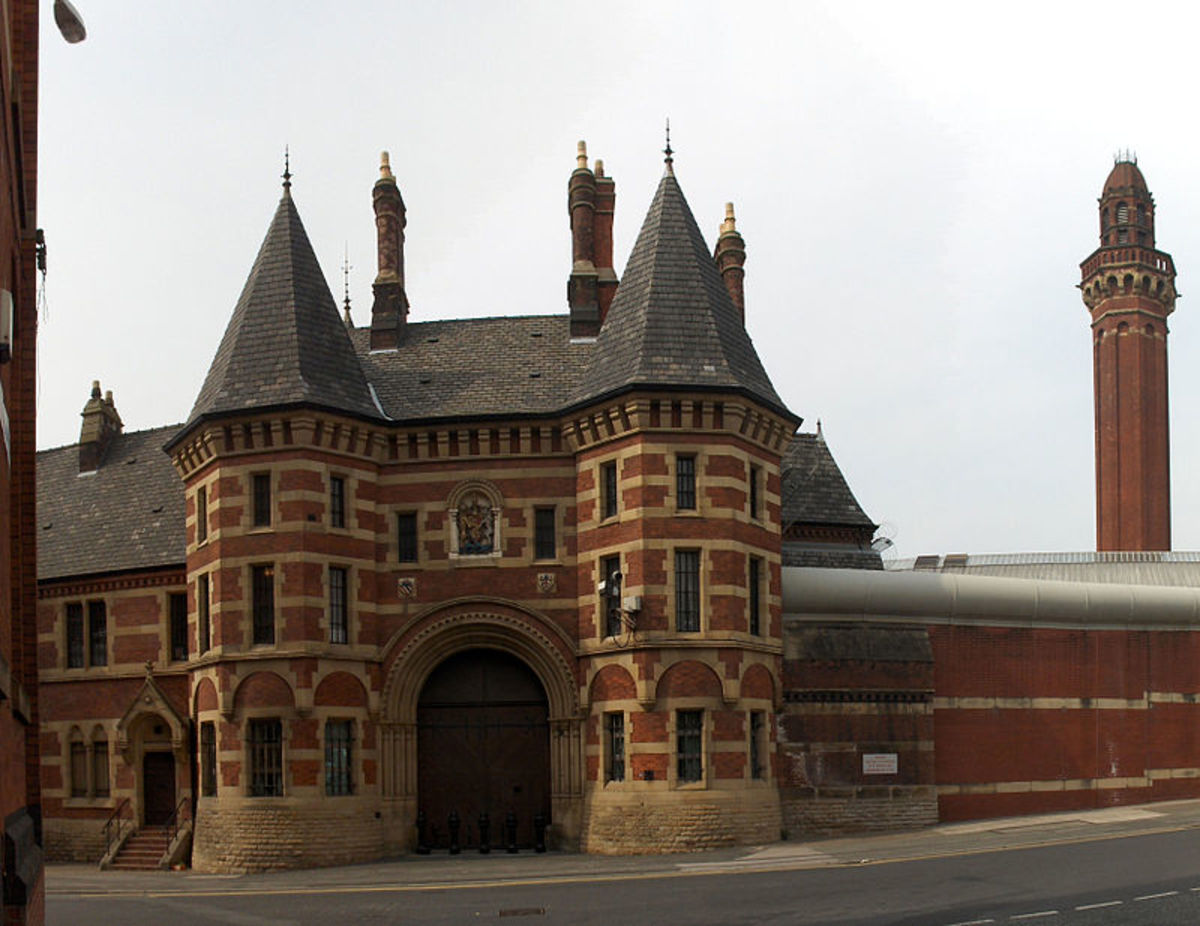 The entrance to Strangeways Prison
