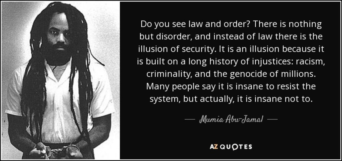 Words from Mumia Abu Jamal