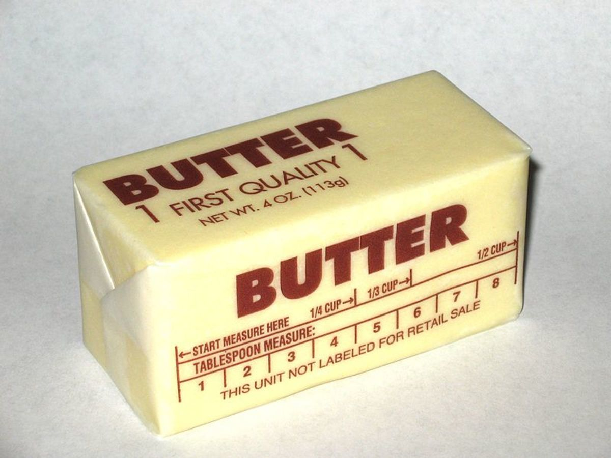 Thank you butter people for easy-to-open packaging.