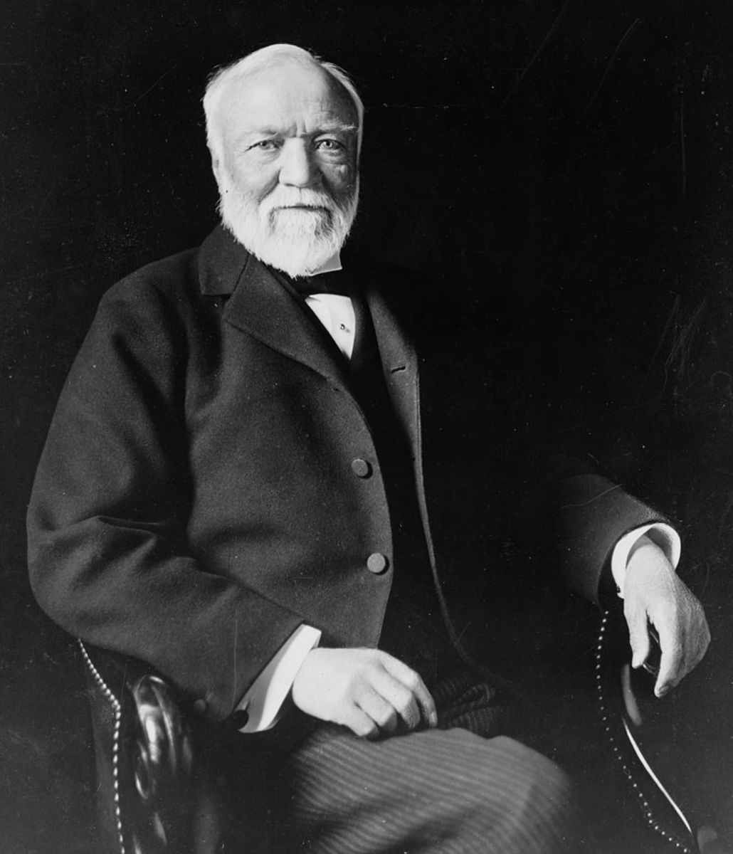 Andrew Carnegie, one of the founders of the American Industrial age, was a immigrant from Scotland.