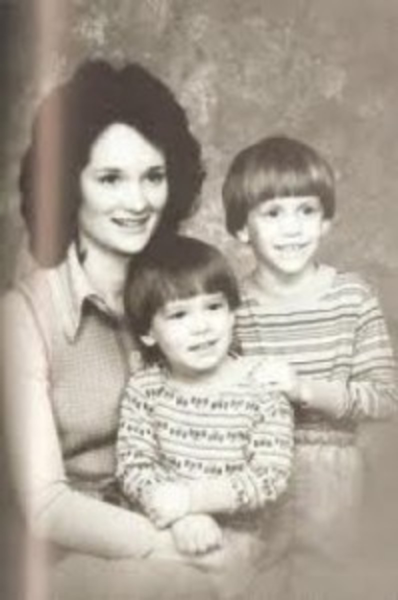 Susie Newsom with her sons