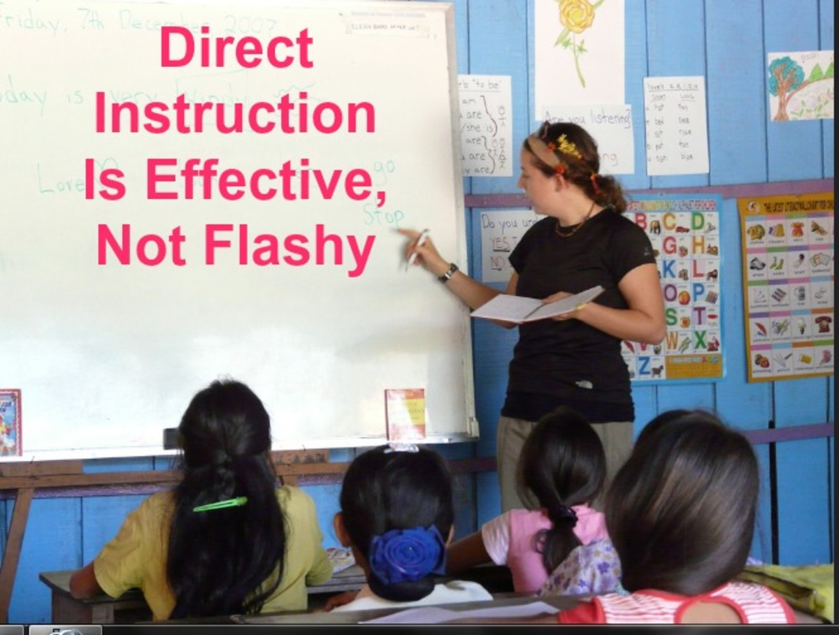 Full inclusion in special education has replaced highly effective methods such as small group direct instruction.