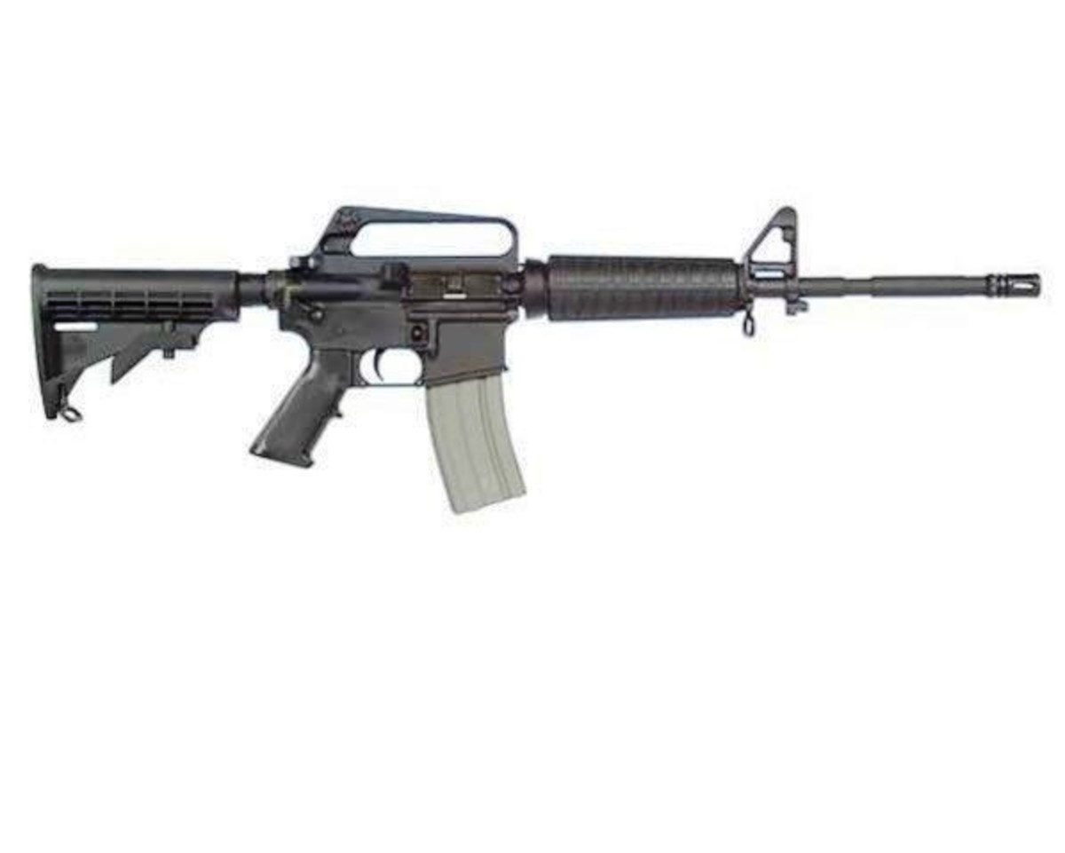 Civilian version of the military M-4 carbine.