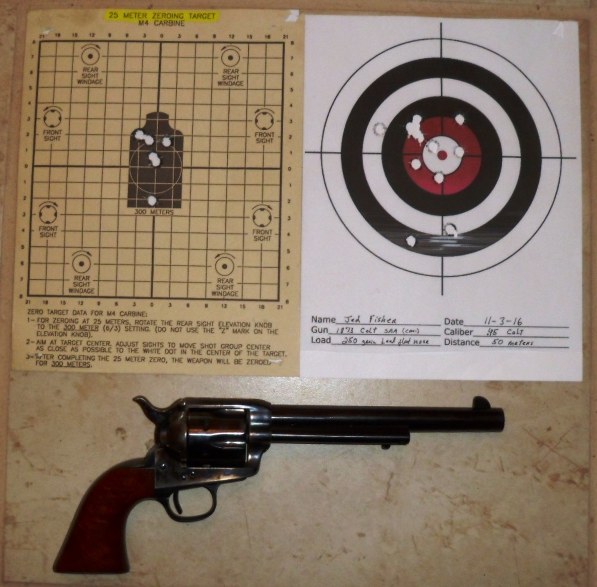 The Colt 45: because shooting them twice is silly!