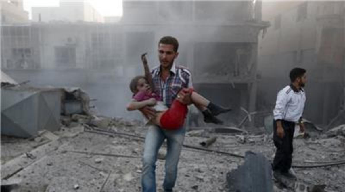 Civilian casualties, Syrian Civil War.