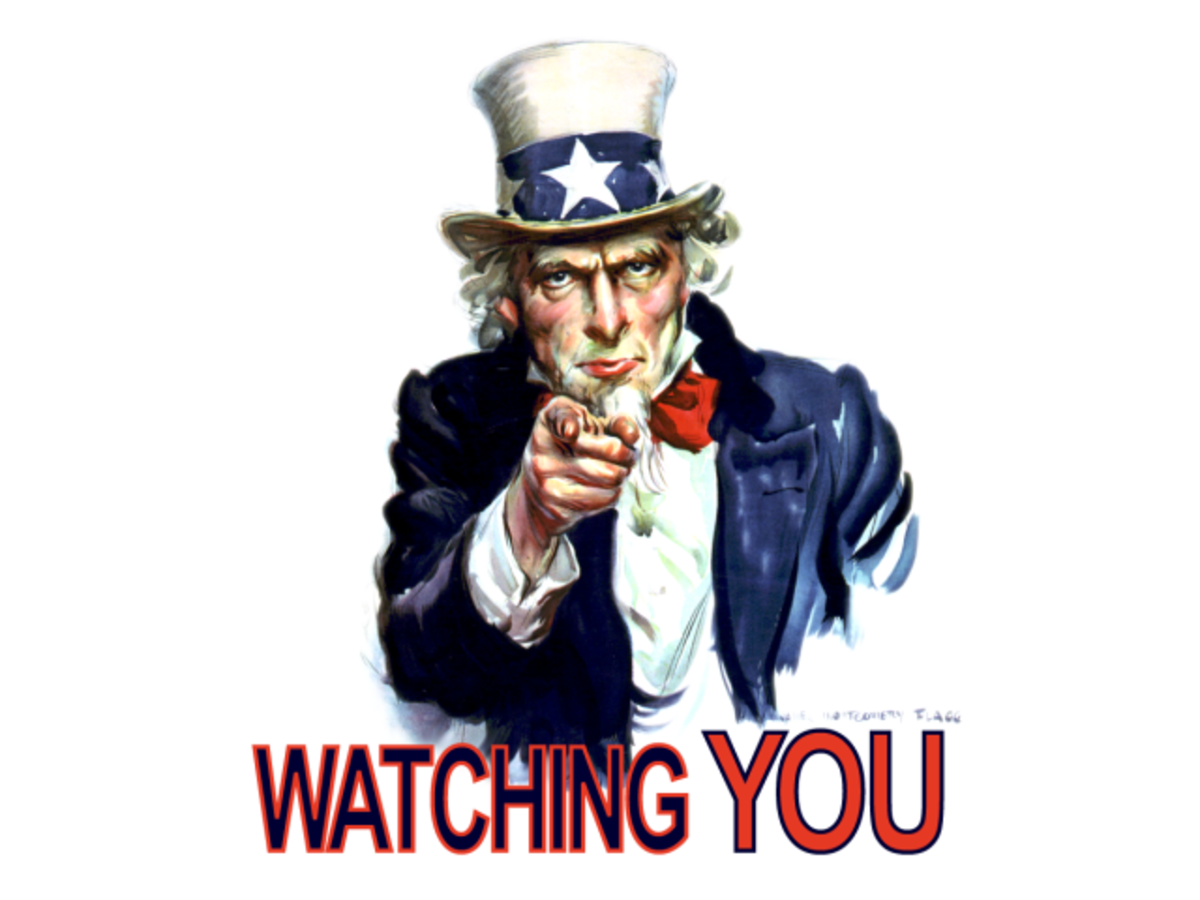 It's not just Big Brother who may be watching you.
