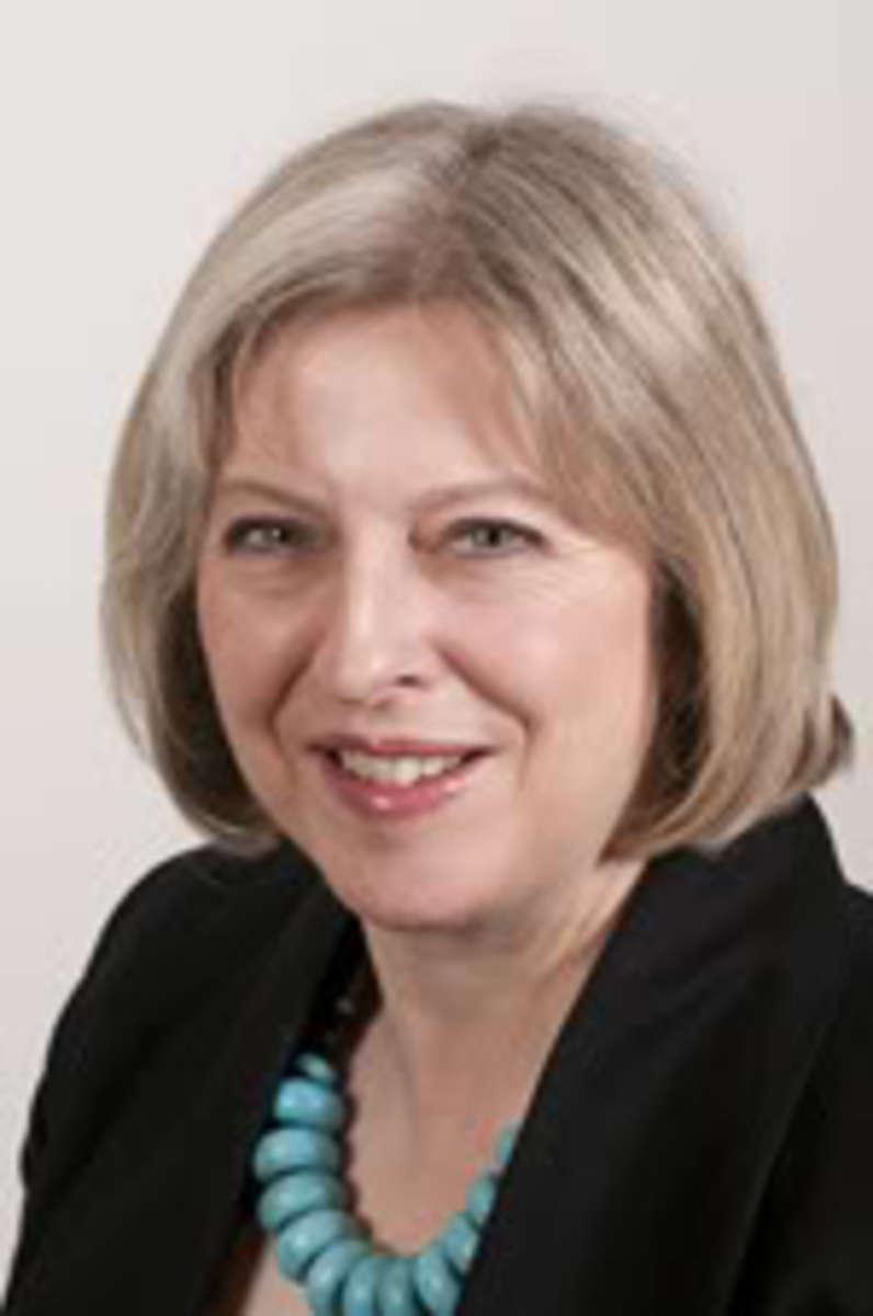 Theresa May successor to David Cameron as British Prime Minister.