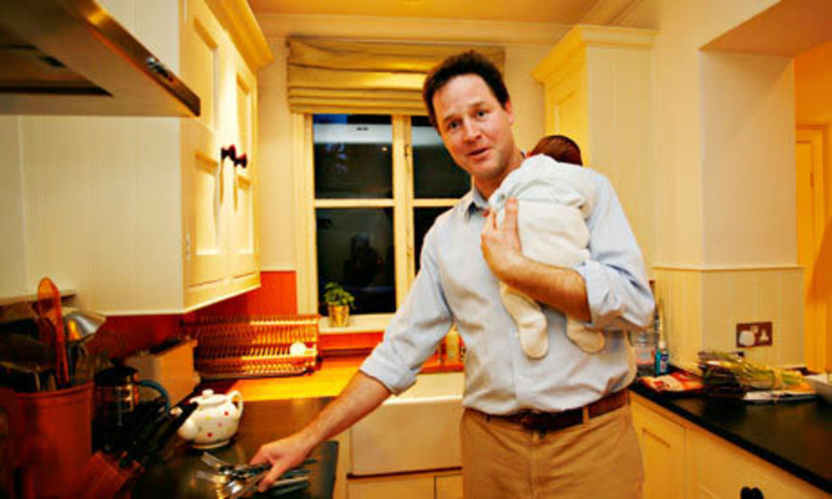 Nick Clegg partnered Cameron and Miliband in persuading Scottish voters to remain in the UK.