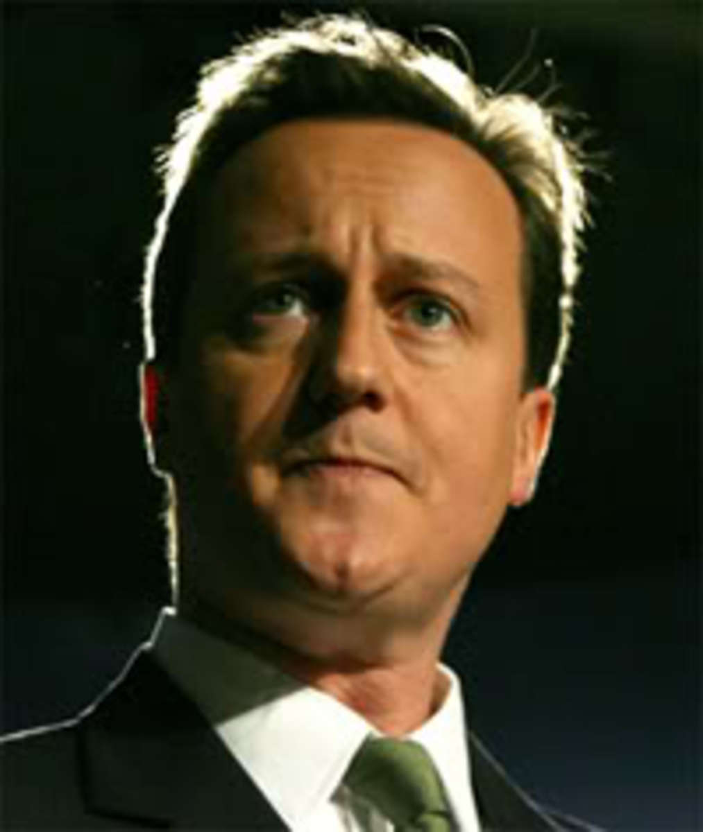 David Cameron former Prime Minister who persuaded voters to remain in the UK during the Scottish referendum.