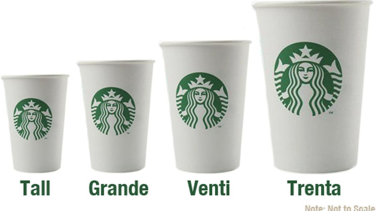 Starbucks: Apparently, size does matter.