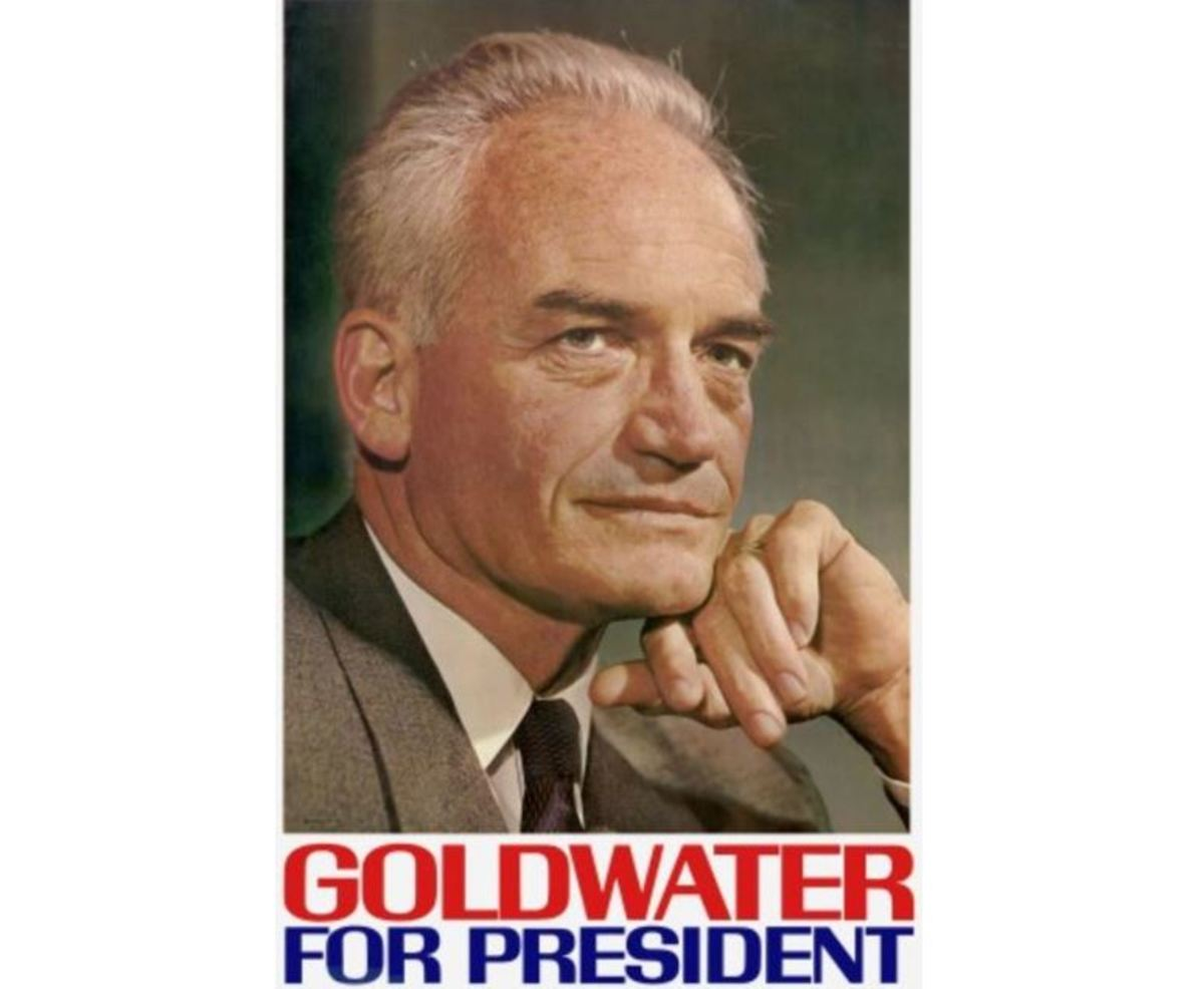 1964 presidential campaign poster for Senator Barry Goldwater