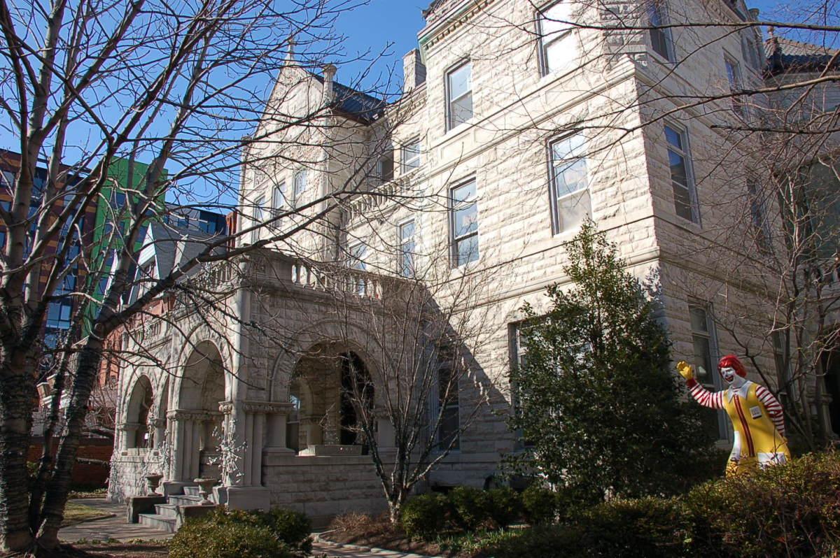 The original Ronald McDonald House in Philadelphia, Pennsylvania