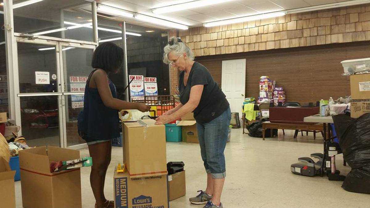 Many relief and aid centers just like this are shutting down all over West Virginia. Sadly the need for these aid stations is still strong.