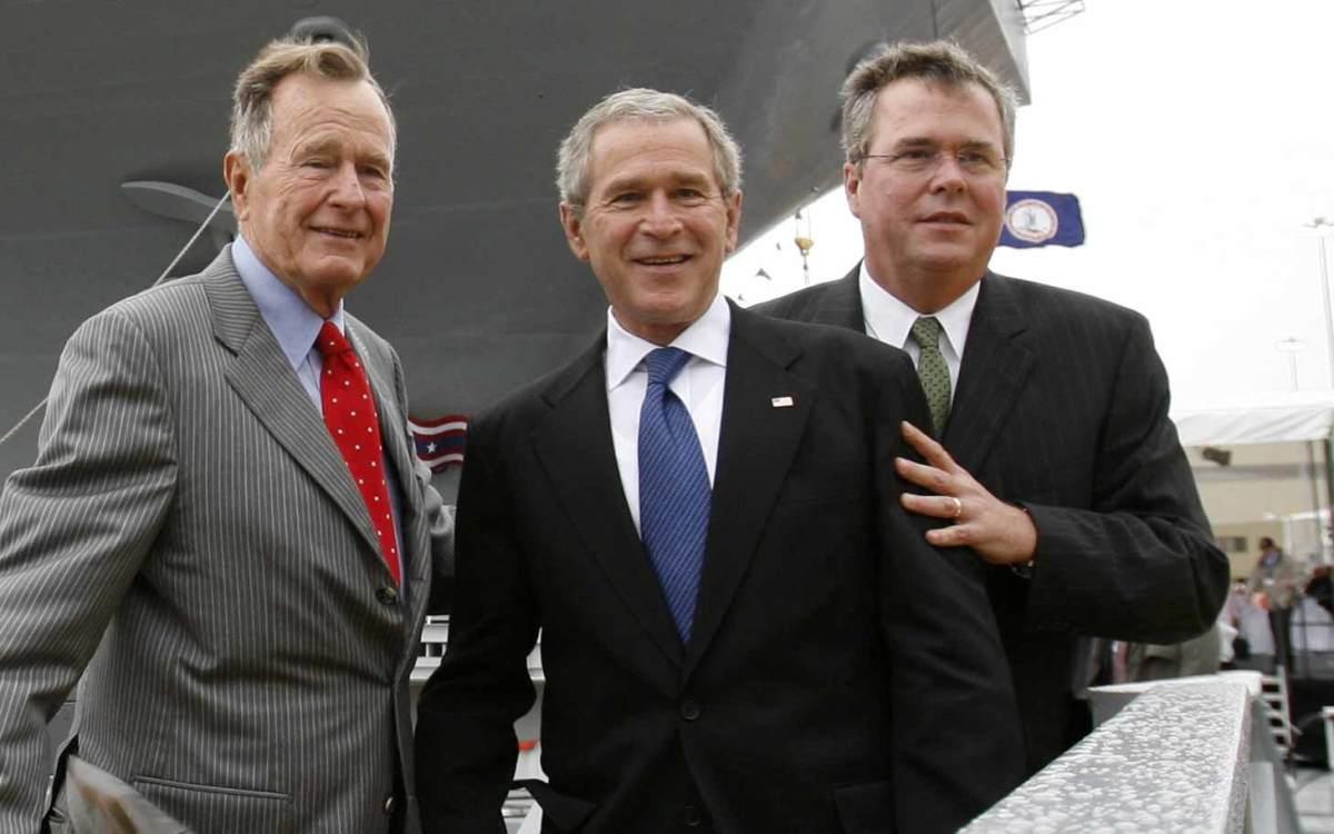 George H.W. Bush George W. Bush Jeb Bush