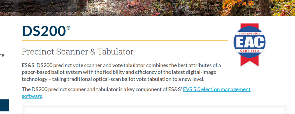 ESS DS200 description from company website.