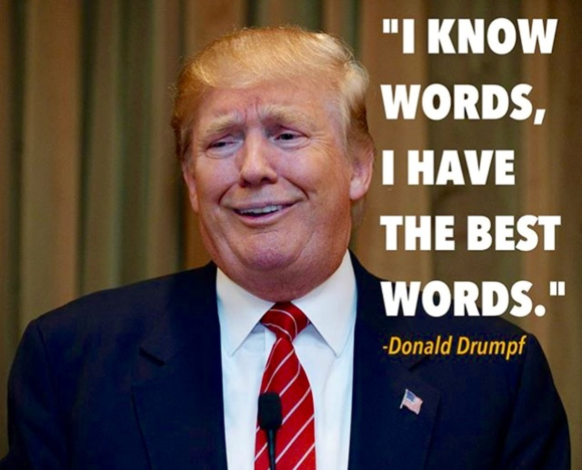 Use Your Words, Donald