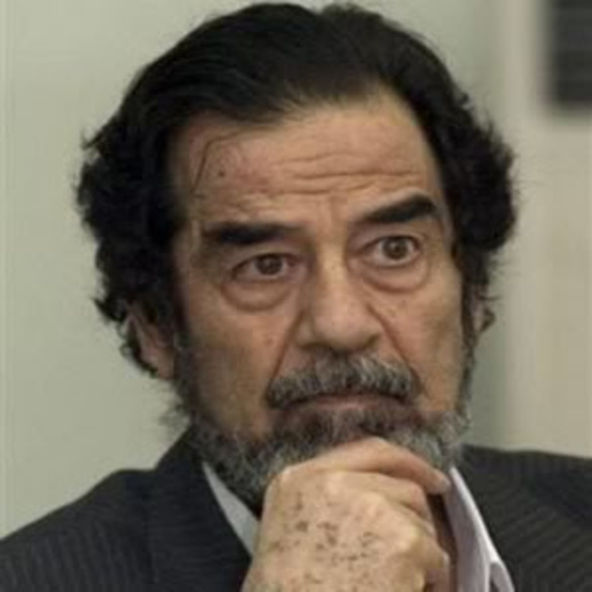 Dictator Saddam overthrown by Bush and Blair which led to the quagmire Iraq is today