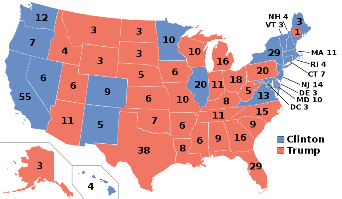 By Gage (2012 Electoral College map) [CC BY-SA 4.0 (http://creativecommons.org/licenses/by-sa/4.0)], via Wikimedia Commons