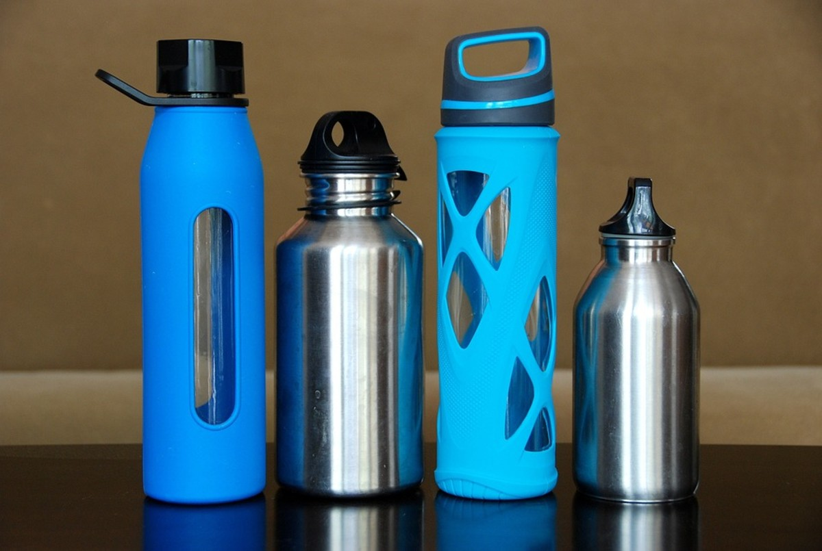 Alternatives to plastic water bottles