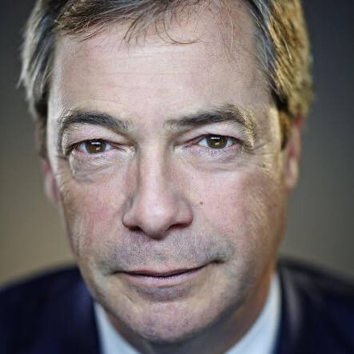 Former leader Nigel Farage