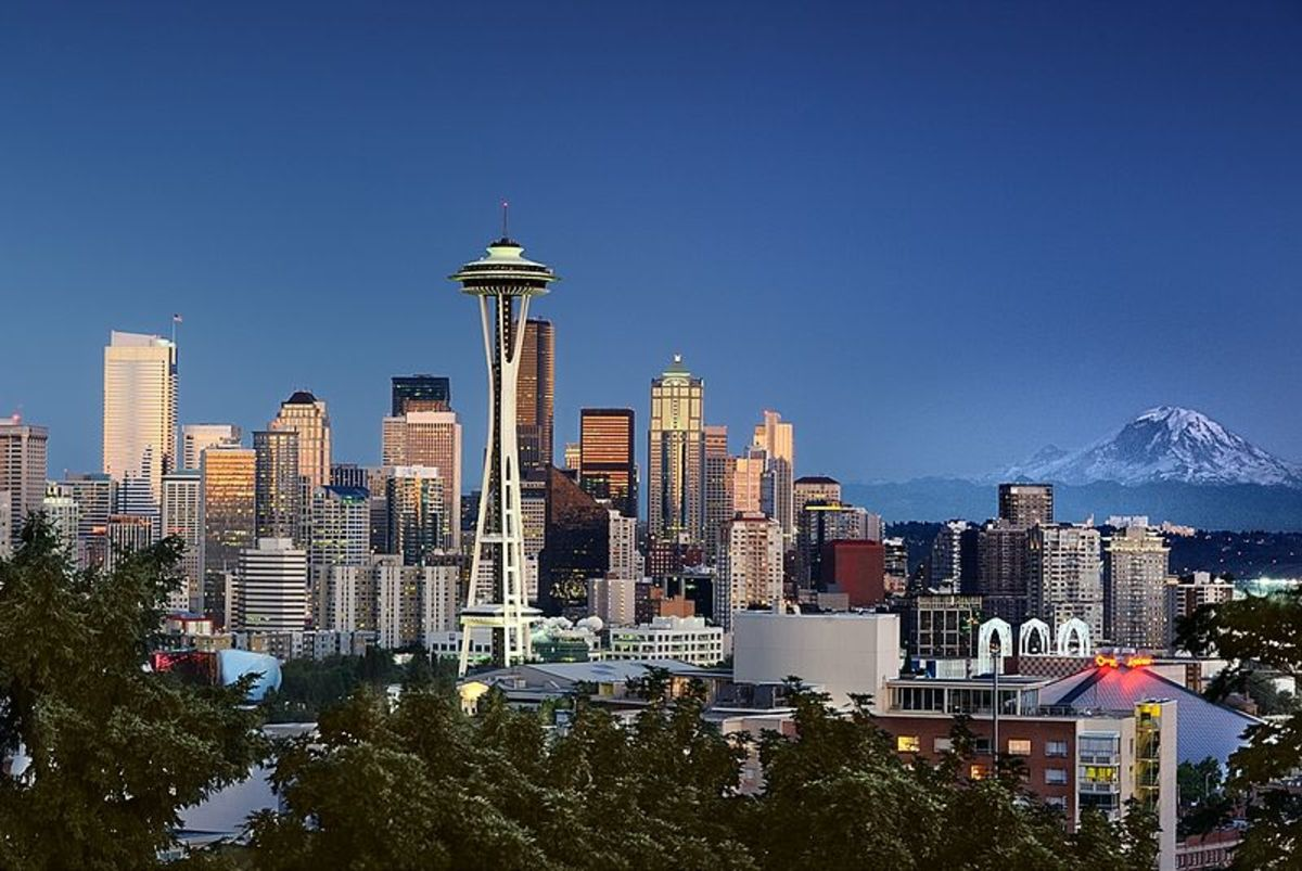 Seattle, one of the greenest city in the USA