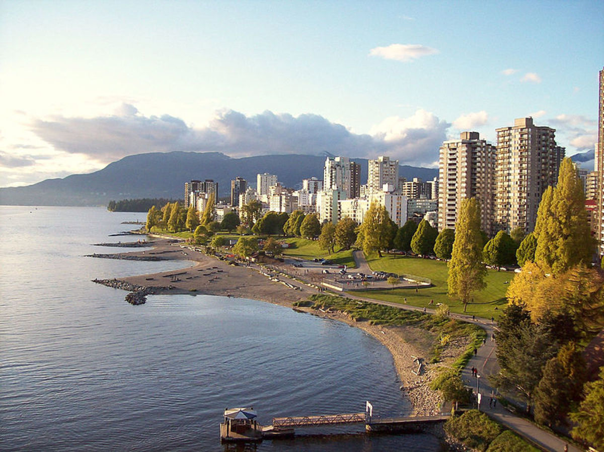 Vancouver, Canada, has a goal of becoming the greenest city in the world by 2020
