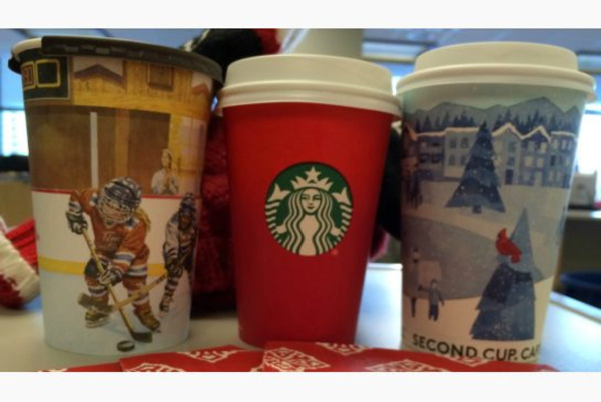 Do Starbuck's Holiday cups really offend anyone? Apparently, they do!