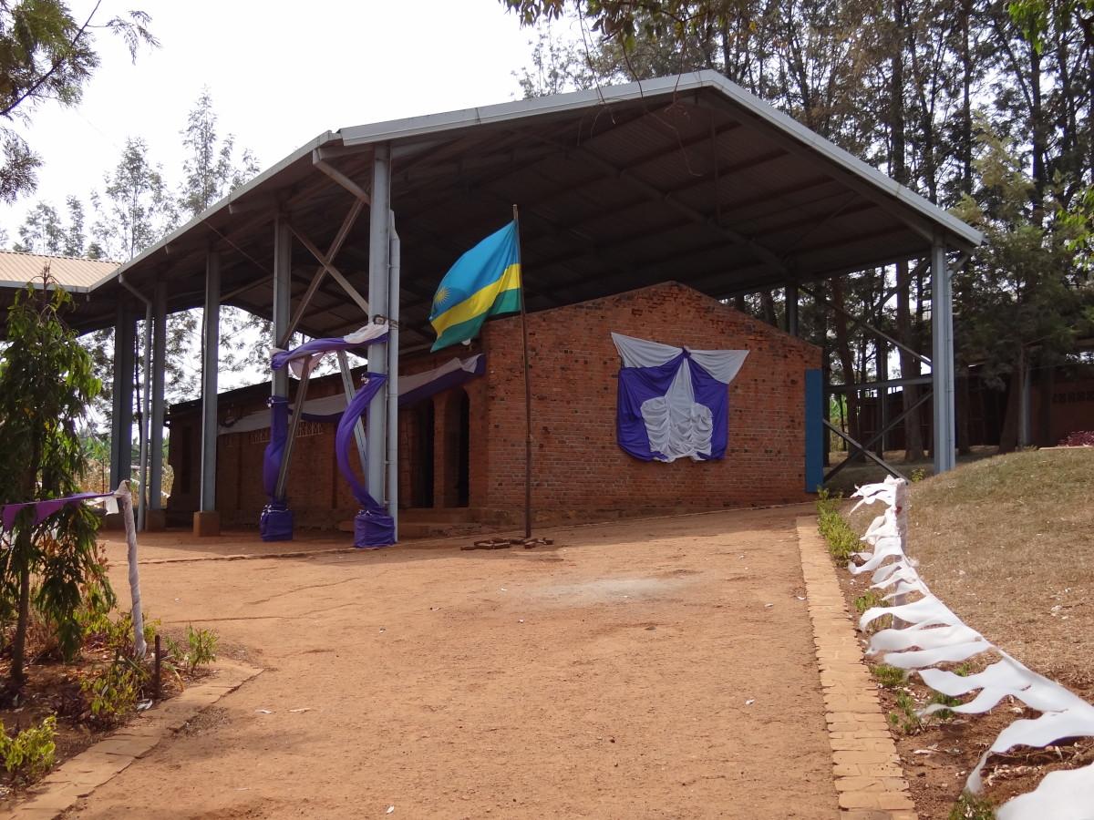 Ntarama Genocide Memorial Site by Adam Jones. Ntarama Genocide Memorial Centre is one of six genocide museums in Rwanda. 5,000 people were killed here in a Catholic church.