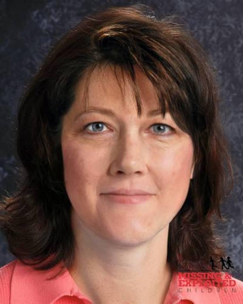Age progressed photo of Laureen Ann Rahn to age 46 years