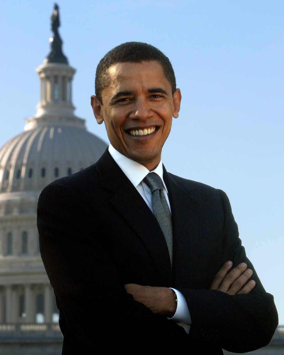 Barack Hussein Obama, the 44th President of the United States