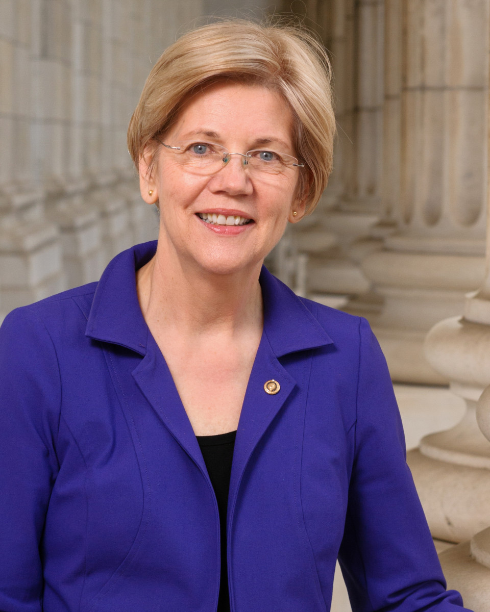 Elizabeth Warren is a senator representing the state of Massachusetts. She has been serving the state since 2012.