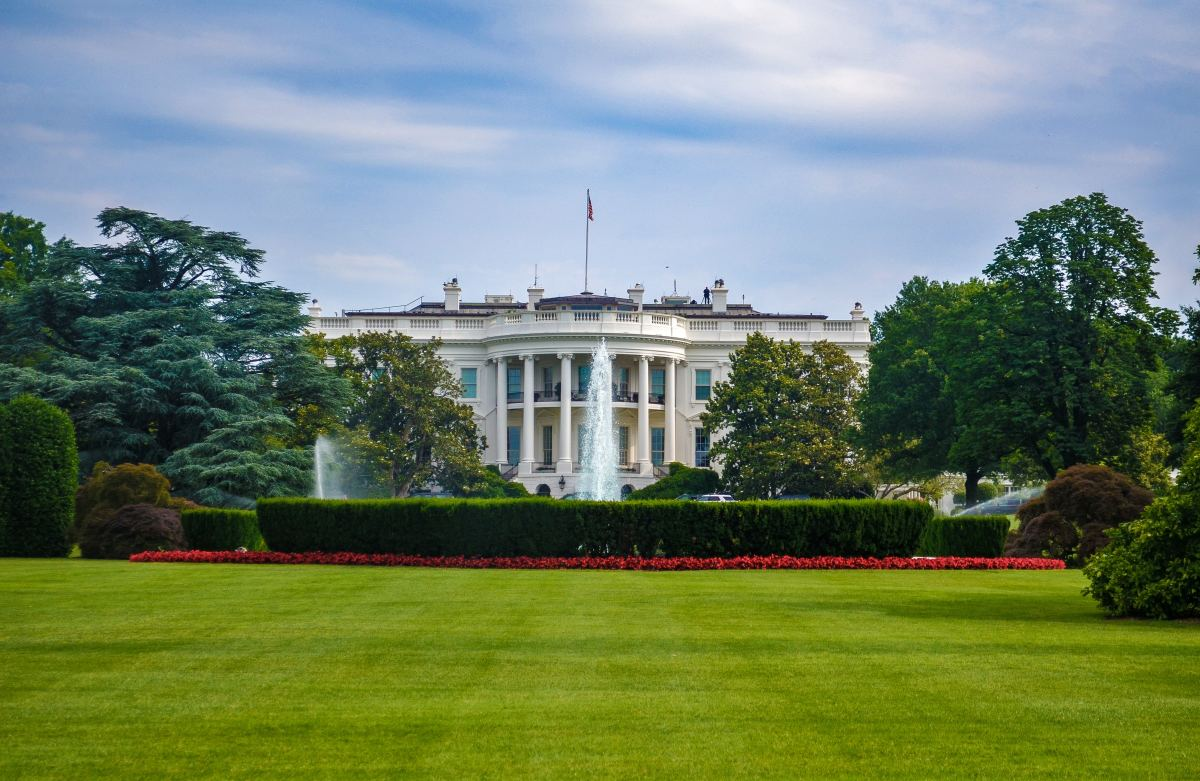 The White House, seal of the Executive Branch. And the winner of the 2020 Presidential Election will get the opportunity to call The White House home.