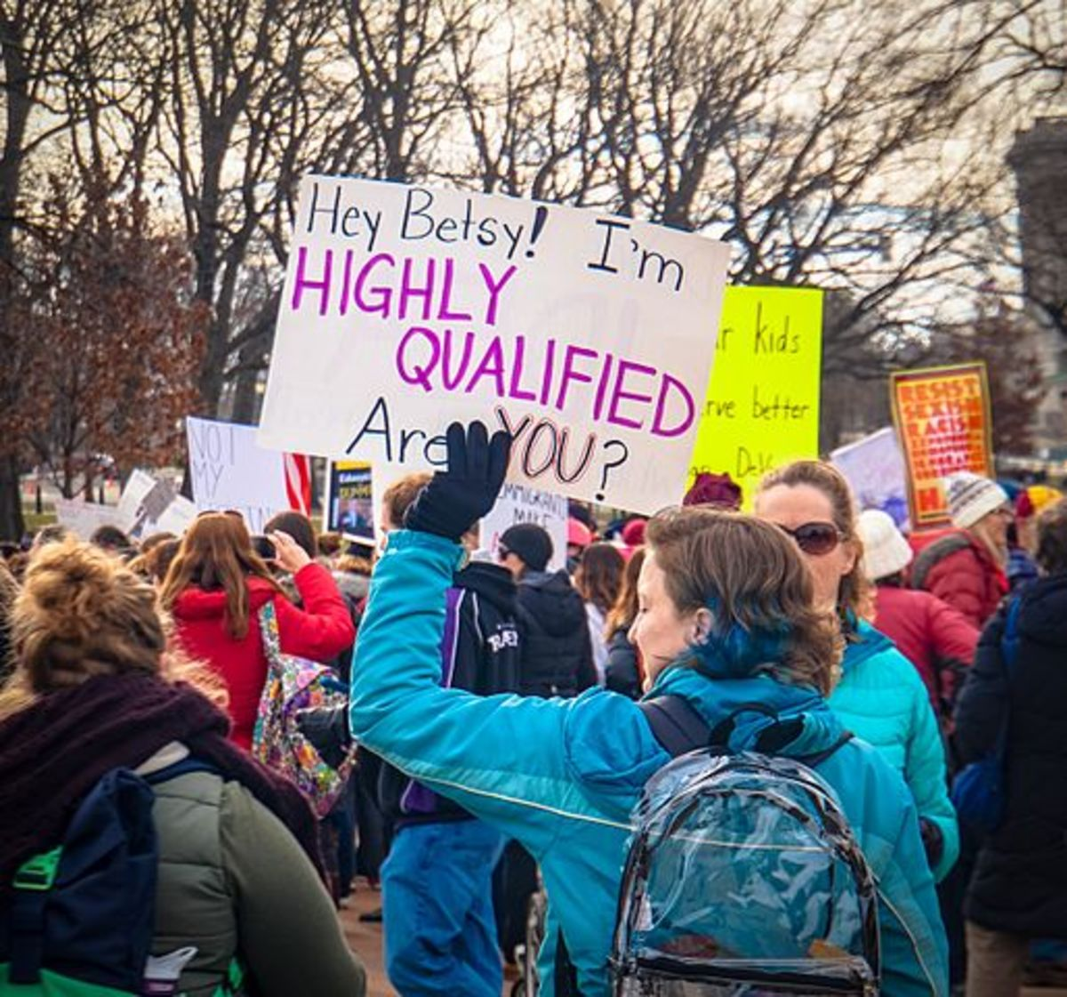 Protests over Betsy DeVos as Trump's pick for Secretary of Education