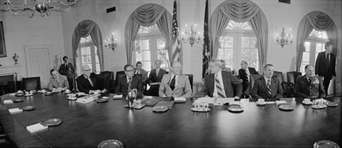 President Ford with NSA