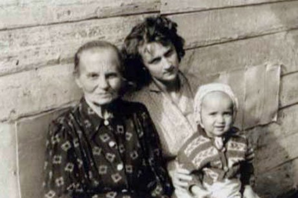 Putin said he came from an ordinary family. I looked for a photo of Vladimir's childhood home, but there was none. He has kept a lot of things about his past secret, including photos that are released about him.
