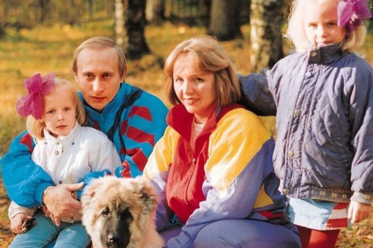 Putin separated from his wife Lyudmila Putina in 2014.