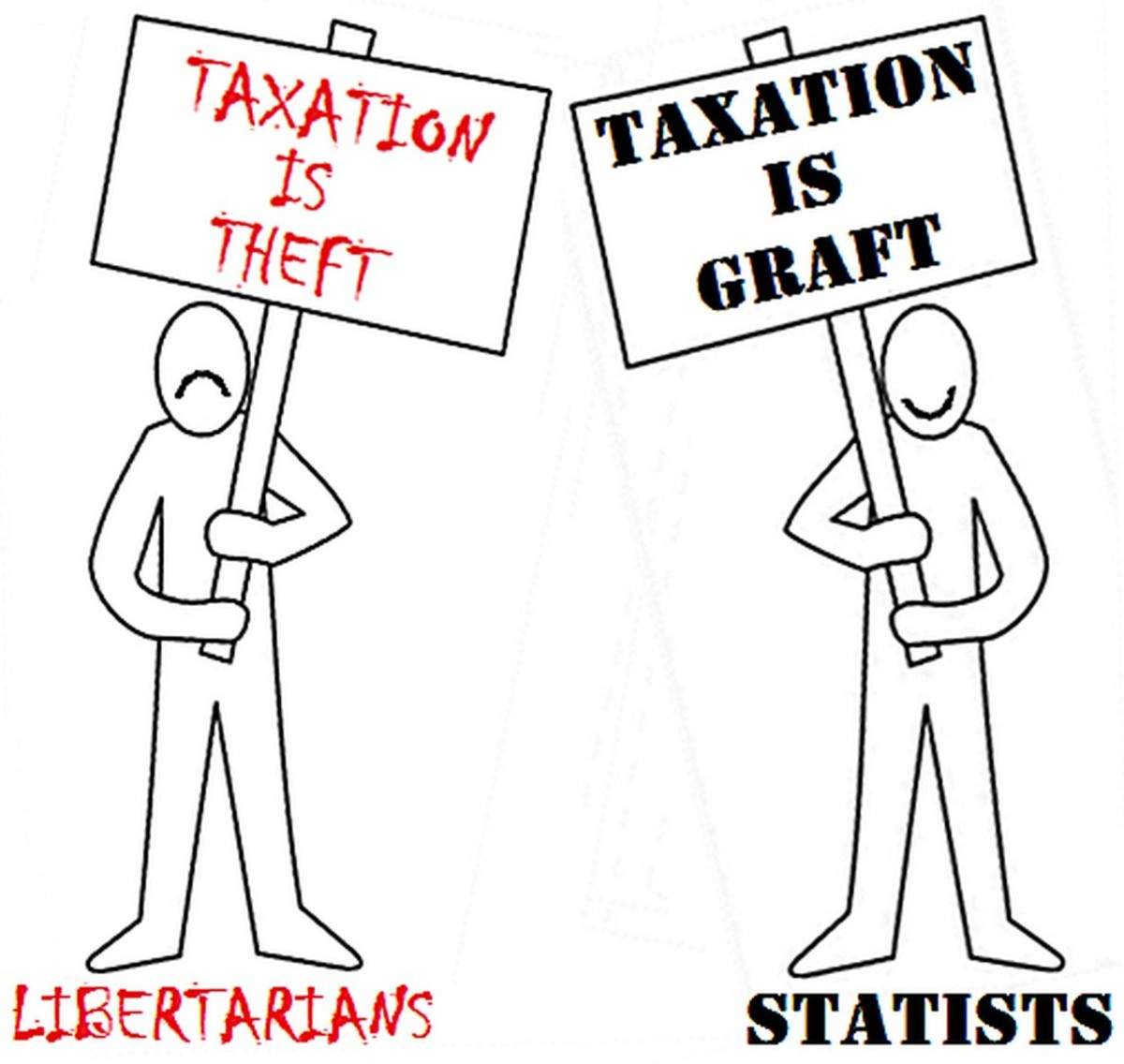 The politically-connected have always made their living from taxes.